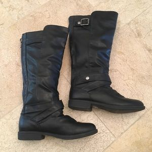 Steve Madden Shoes - Steve Madden Black Knee High Boots Women's Size 7